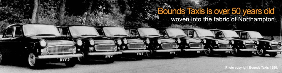 Bounds Taxis Northampton